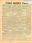 Orono Weekly Times, 18 Apr 1957