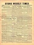 Orono Weekly Times, 25 Apr 1957