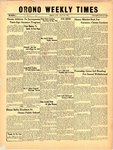 Orono Weekly Times, 9 May 1957