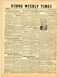 Orono Weekly Times, 16 May 1957