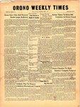 Orono Weekly Times, 29 May 1958