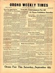 Orono Weekly Times, 4 Sep 1958