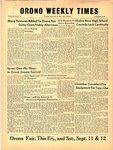 Orono Weekly Times, 10 Sep 1958