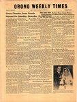 Orono Weekly Times, 13 Nov 1958