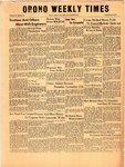 Orono Weekly Times, 20 Nov 1958