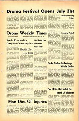 Orono Weekly Times, 24 Jul 1969