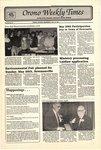 Orono Weekly Times, 15 May 1991