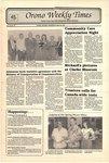 Orono Weekly Times, 22 May 1991