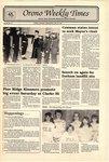 Orono Weekly Times, 29 May 1991