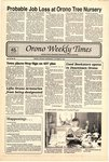 Orono Weekly Times, 9 Oct 1991