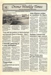 Orono Weekly Times, 30 Oct 1991
