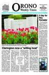 Orono Weekly Times, 20 May 2009