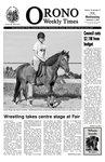 Orono Weekly Times, 2 Sep 2009