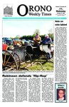 Orono Weekly Times, 21 Oct 2009