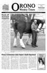 Orono Weekly Times, 20 Jan 2010