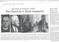 Article regarding church histories in Baltimore