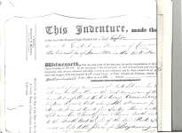 Indenture of Bargain of Sale between George Strange Boulton and John White