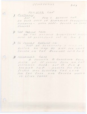 Booklet compiled by Archie Birney