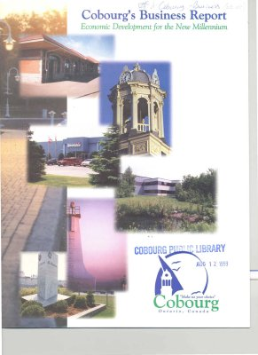 "Booklet entitled ""Cobourg's Business Report"" for 1999."