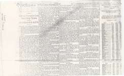 Article from the Toronto World, October 1848 regarding the Town of Cobourg