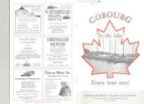 """Cobourg by the lake"" booklet"