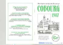 """Official guide book of Cobourg 1987"""