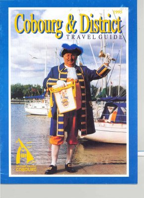 """Cobourg & District travel guide : 1995"""