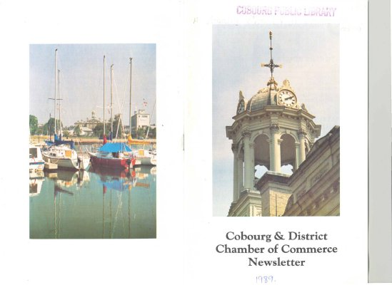 Cobourg & District Chamber of Commerce Newsletter