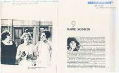 Overview of Marie Dressler's career.