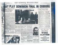 May Play Dominion Final In Cobourg