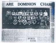 Cobourg Ghosts Are Dominion Champions
