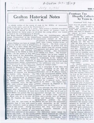 Article about the autobiography of Sir Henry Ruttan