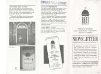 Haldimand Township Local Architectural Conservation Advisory Committee Newsletter.