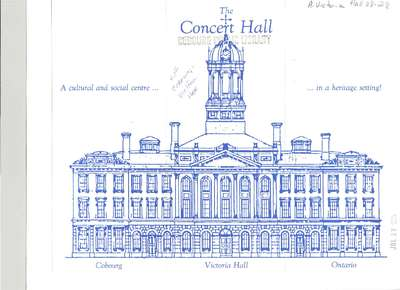 The Concert Hall- A cultural and social centre in a heritage setting!