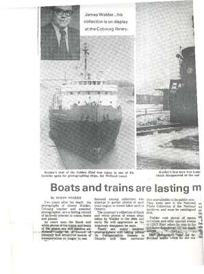 Boats and trains are lasting memorial to Cobourg teacher