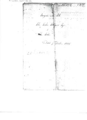 Indenture of Bargain and Sale from John Tucker WIlliams to John Wilder