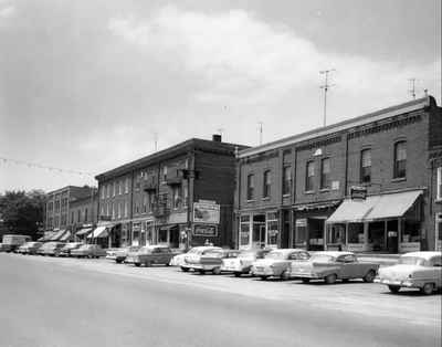 Business section, Colborne