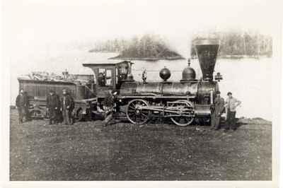 Cobourg and Peterborough Railway Locomotive