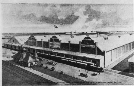 Beardmore warehouse (now the Olde Hide House) 1920