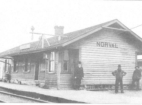 Grand Trunk Railway Station, c. 1900