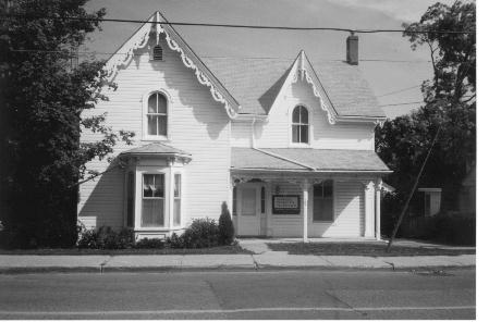 White clapboard house, 129 Main Street South