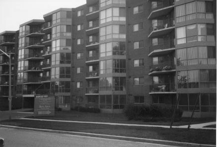 Royal Ascot Condominiums, photographed in 1993