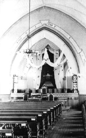 Georgetown Methodist Church - Interior