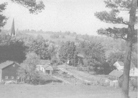 Hilltop view of Norval