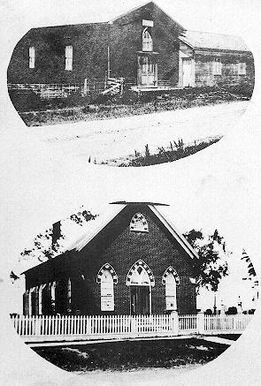 Hornby Orange Hall and Presbyterian Church