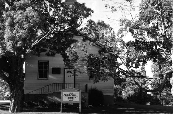 Churchill Community Church 1993