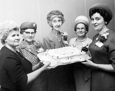 Ashgrove Women's Institute, 1966
