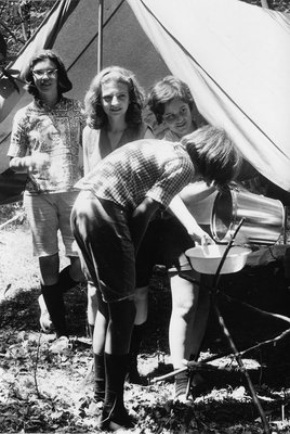 Girl Guides of Canada Camping