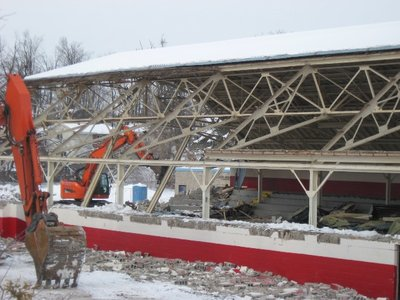 Memorial Arena Demolition