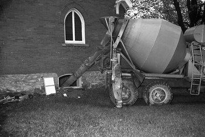 Basement Floor for Acton Baptist Church